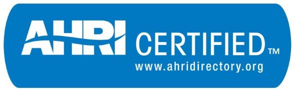 AHRI dostopen za lotane in fuzijsko spojene kompaktne izmenjevalnike