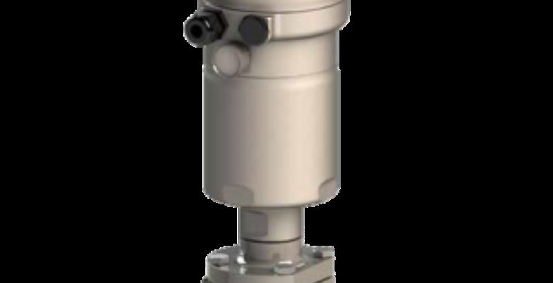Aseptični kotni regulacijski ventil tip 3349 je dobavljiv v novih materialih