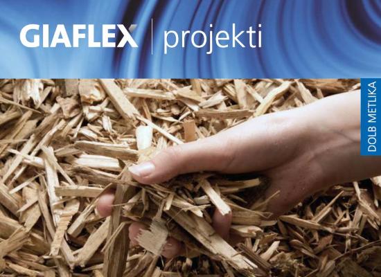 Daljinsko ogrevanje na lesno biomaso v Metliki
