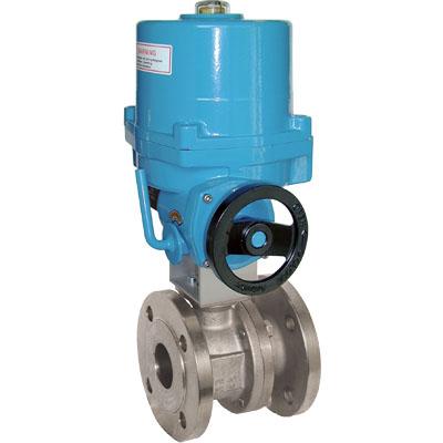 Elekrtomotorne prirobnične krogelne pipe