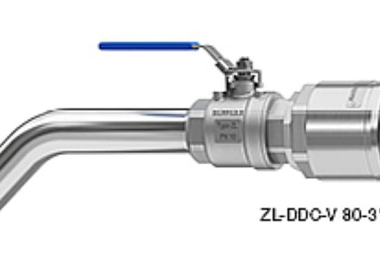 Iztočne pipe za polnjenje IBC kontejnerjev in bobnov