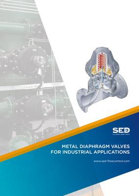 Nov katalog SED Flow Control - Koviski membranski ventili za industrijske aplikacije