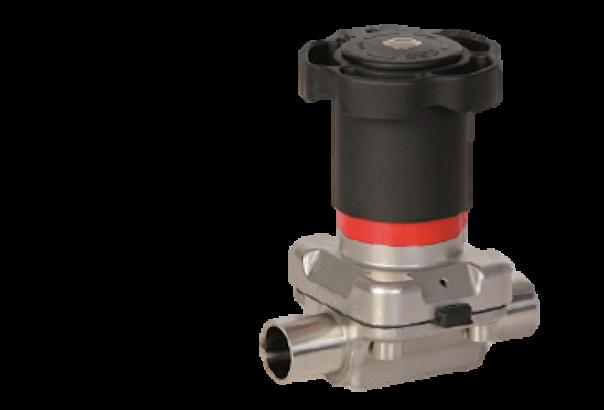 Nov ročni membranski ventil SED Flow control tip 905