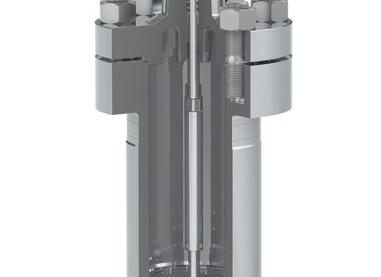 Nov ventil Samson tip 3598 (za nizke temperature in visok tlak...)