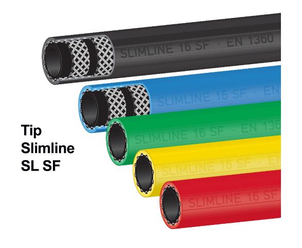 Novi tipi cevi za gorivo Slimline SF in AdBlue
