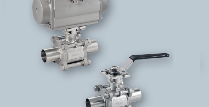 Novost: SAMSON SED krogelni ventili