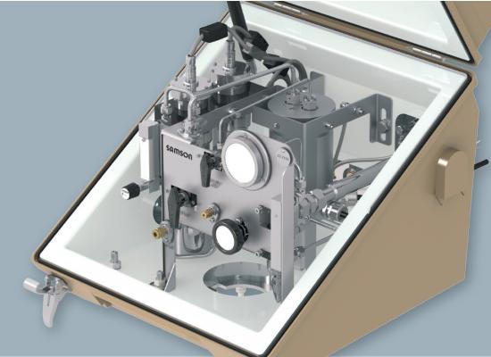 Oprema za analiziranje LNG in zemeljskega plina