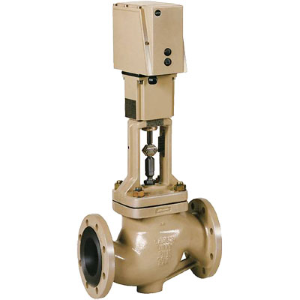 Prehodni ventili z EM pogonom in prirobničnimi priključki