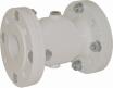 Prirobnični cevni stisljivi ventili