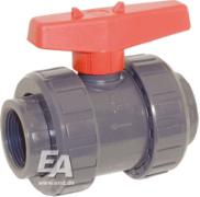 PVC navojne krogelne pipe