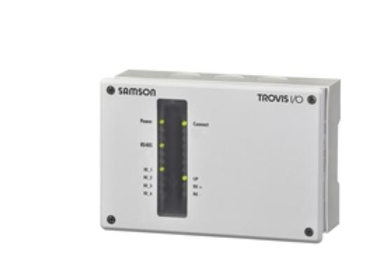 Regulatorja ogrevanja in daljinskega upravljanja TROVIS 5578-E in TROVIS I / O