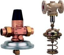 Regulatorji diferenčnega tlaka in (ali) pretoka
