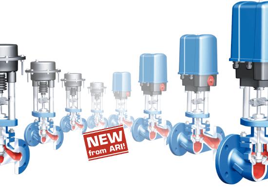 STEVI Vario – Prilagodljiv regulacijski ventil