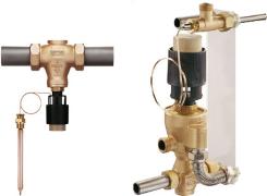 Temperaturni regulatorji s hidravljičnim vodenjem