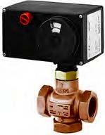 Tropotni ventili z EM pogonom in navojnimi ali varilnimi priključki