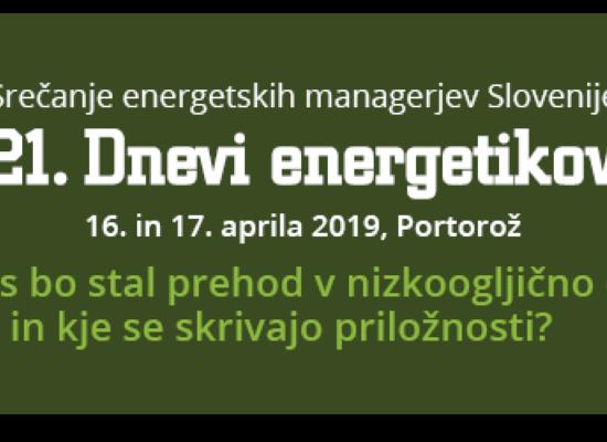 Udeležili smo se 21. srečanja energetskih managerjev Slovenije