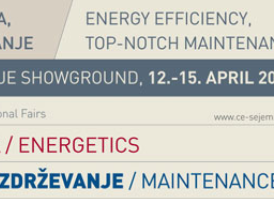 Vabilo na 18. sejem Energetika 12.-15. april 2016