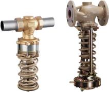 Varnostni omejevalnik tlaka z red. ventilom