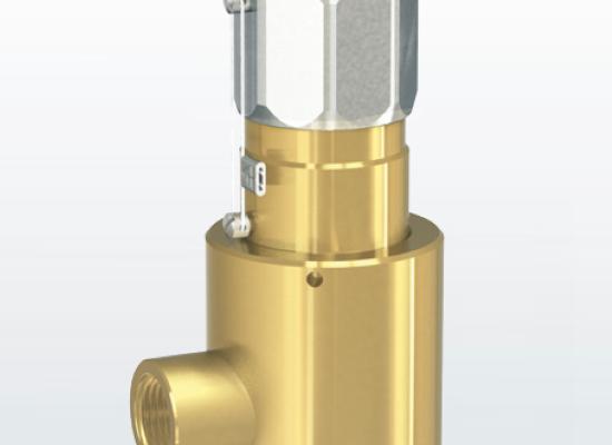Varnostni ventil tip 492 GOX za kisik do 420 bar