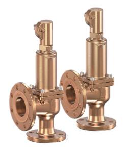 Varnostni ventili za industrijske aplikacije