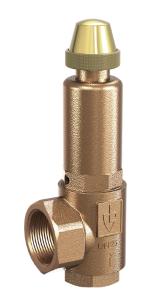 Varnostni ventili za ogrevanje in prezračevanje